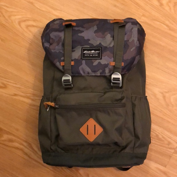 9dbca46add0e Eddie Bauer Handbags - Eddie Bauer top-load backpack.